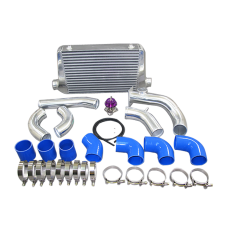 Front Mount Intercooler + Piping Kit For 84-91 BMW 3-Series E30