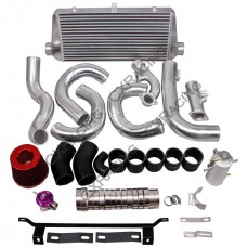FMIC Intercooler Piping BOV Turbo Intake CAI Kit For 2014+ WRX FA20DIT Subaru