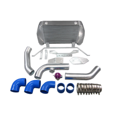 Front Mount Intercooler Kit + BOV For Mazda RX7 RX-7 FD Single or Stock Turbo