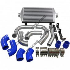 Intercooler + Piping Kit For 2011+ Jeep Grand Cherokee WK2 Turbo Diesel 3.0L