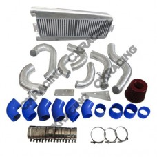FMIC Intercooler Piping Kit + Intake Filter For 87-93 Mustang 5.0 Supercharger