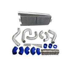 Bolt On FMIC Intercooler Kit For 87-93 Ford Mustang 5.0 Supercharge V3 Fox Body