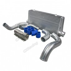 Turbo FMIC Intercooler Kit For 240SX S13 S14 S15 RB20 RB25 Engine Swap