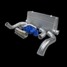 Turbo FMIC Intercooler Kit For 240SX S13 S14 S15 RB20 RB25 Engine Swap