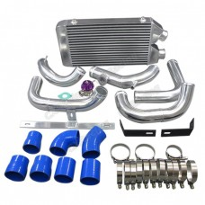 "25""x11""x3"" FMIC Intercooler Kit + BOV For S13 S14 240SX RB20/RB25DET"