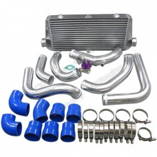 "30""x11""x3"" FMIC Intercooler Kit + BOV For S13 S14 240SX RB20/RB25DET"