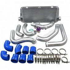 """30""""x11""""x3"""" FMIC Intercooler Kit + BOV For S13 S14 240SX RB20/RB25DET"""