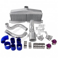 Twin Turbo Intercooler Piping BOV Kit for SBC Engine 82-92 Camaro Small Block