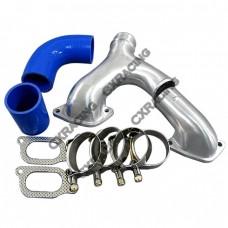 Top Mount Intercooler Y pipe Kit For 02-07 WRX STI