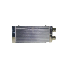 """Front Intercooler 31""""x12""""x4"""" 4"""" Core: 24""""x12""""x4""""  3"""" Inlet & Outlet One Side For Mustang RX7 Eclipse"""