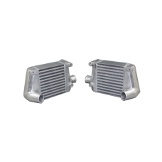Twin Turbo Intercooler For 1990-1996 Nissan 300ZX Aluminum Side Mount