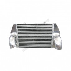 """4"""" Thick Turbo V-mount 23.5""""x11.75""""x9.5"""" Intercooler 3"""" Inlet & Outlet"""