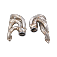 Twin Turbo Manifold Header For 60-72 Chevrolet C10 Truck Big Block BBC 396 402 427 454