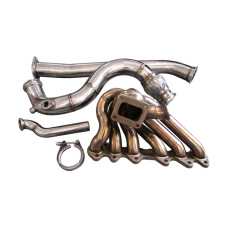 Thick Wall Turbo Manifold Downpipe Dump For Subaru BRZ Scion FRS 2JZ-GTE
