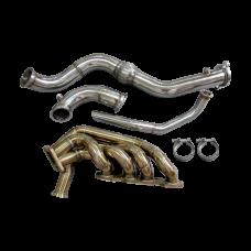 11 Gauge Turbo Manifold Downpipe Dump Tube For HONDA S2000 F22 Engine
