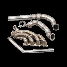 Thick Wall Turbo Manifold Kit For 1992-1995 Honda Civic EG K20 Engine