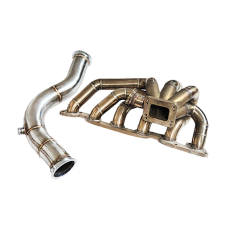 Single Turbo Manifold Downpipe For 240SX S13 S14 RB26 RB26DETT Swap