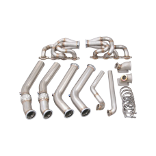 LS1 Twin Turbo Manifold Header Kit For 1960-66 Chevrolet C10 Truck LSx LQ