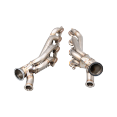 Twin Turbo Manifold Header For 86-92 Supra MK3 LS1 LSx Swap T4 46mm WG