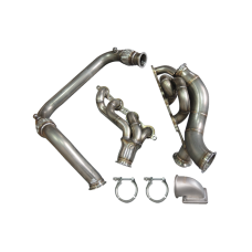 Single T4 Turbo Manifold Cross Pipe For 99-07 Chevrolet Silverado GMT800