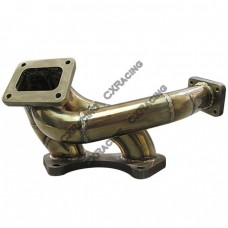 Stainless Steel Turbo Manifold For 93-02 Mazda RX-7 RX7 FD 13B