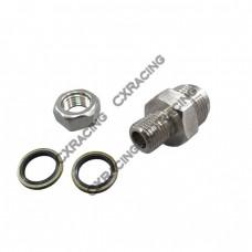 AN10 Oil Pan Drain Return Plug/Fitting Adapter Bung Turbo T3 T4 T04E T6