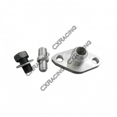 Oil Fitting Kit For Supra 1JZGTE 2JZGTE 1JZ 2JZ Single Turbo An10 AN4