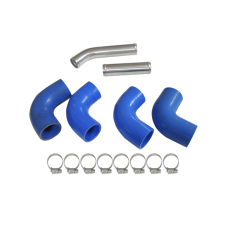 "1.5"" Aluminum Radiator Piping Kit for Toyota Supra MK3 with GM LS1/LSx Motor Swap"