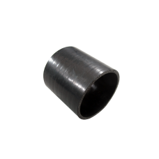 """1.5"""" Straight Black Silicon Coupler Hose for Turbo Intercooler Pipe 3"""" Long"""
