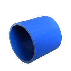 """1.5"""" Blue Straight Silicon Hose Coupler for Turbo Intercooler Pipe"""