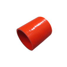 """1.5"""" Straight Red Silicon Hose For Turbo Intercooler Pipe 3"""" Long"""