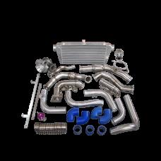 Turbo Kit intercooler Manifold Downpipe for 95-04 Tacoma 5VZFE 5VZ-FE 5VZ