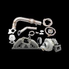 Turbo Manifold Downpipe For 94-00 Integra 92-00 Honda Civic B18 B20 Engine