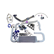 TURBO KIT FOR Honda Civic Integra B-Series B16 B18 with Oil Return Line