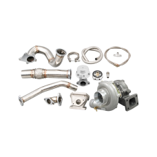 Turbo Stainless Steel Manifold Downpipe Kit for 2012-15 Honda Civic Si K24