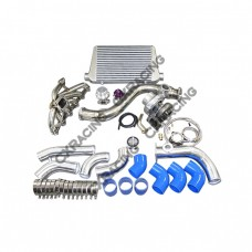 Turbo Intercooler Piping Downpipe Catback Kit For 84-91 BMW E30