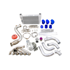 Turbo Manifold Intercooler Piping For 84-91 BMW 3-Series E30 M20 Engine