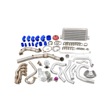 Thick Wall Turbo Manifold Intercooler For 05-11 Civic Si FA FG FK FN FD K20 Engine