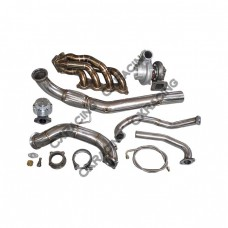 Turbo Kit for Civic Integra DC5 RSX K20 GT35 Thick Manifold Downpipe