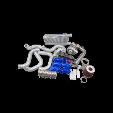 Turbo Intercooler Kit for 04-08 Acura TSX K24 T04E Manifold Downpipe