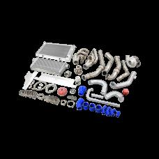 LS1 LS Turbo Intercooler Radiator Kit For 67-72 Chevrolet C10 Chevy Truck
