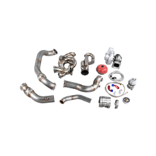 Turbo Manifold Downpipe Kit For 04-13 BMW E90/E92 LS1 Engine 700 HP T76