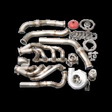 Single Turbo Manifold Kit For 78-83 Chevrolet Malibu G-Body LS1/ LSx Motor