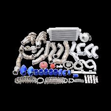 Turbo Manifold Intercooler Kit for 91-00 Lexus SC300 With LS Engine