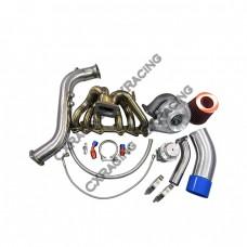 T70 Turbo Kit Manifold Downpipe For 1JZGTE 1JZ-GTE GS300 SC300 Supra