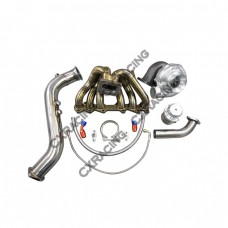 Turbo Kit Manifold Downpipe Wastegate For 1JZGTE 1JZ-GTE GS300 SC300 Supra MK3