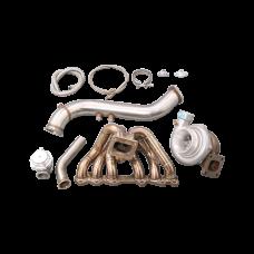 Turbo Manifold Downpipe kit for Toyota 1JZGTE S13 GS300 SC300 Supra MK3