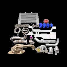 Turbo Manifold Downpipe Intercooler Kit For 05-15 Mazda Miata MX-5 NC 2.0