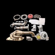 Turbo Manifold Downpipe Kit For 05-15 Mazda Miata MX-5 NC 2.0