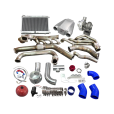 Turbo Header Manifold Intercooler Heat Exchanger Piping Kit For 65 Ford Mustang V8